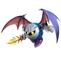 Artwork of Meta Knight, from Super Smash Bros. for Nintendo 3DS / Wii U.