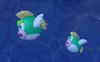 Mega Deep-Cheep and Deep-Cheep