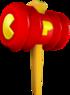 Pac-Man's Quack Hammer
