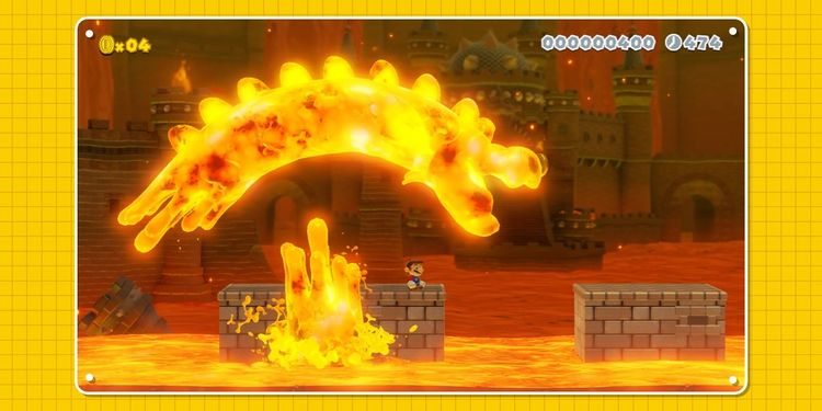 Picture shown with the ninth question in Super Mario Maker 2 Trivia Quiz