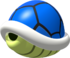 Artwork of a Blue Shell from New Super Mario Bros.