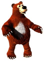 Blunder from Donkey Kong Country 3.