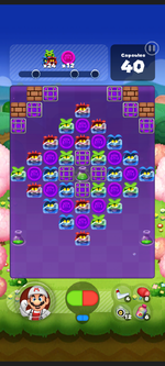 Stage 533 from Dr. Mario World