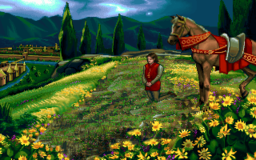 Joan of Arc in the PC release of Mario's Time Machine