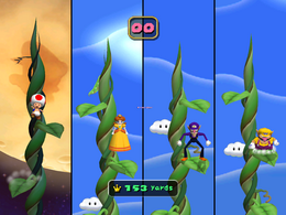 Leaf Leap from Mario Party 5