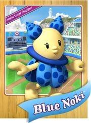 Level 1 Noki card from the Mario Super Sluggers card game