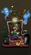 Luigi's Mansion 3 smartphone wallpaper
