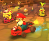 The icon of the Ice Mario Cup challenge from the 2020 Halloween Tour in Mario Kart Tour