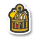The Caged Bird icon from Paper Mario: Color Splash