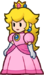Princess Peach as she appears in Super Paper Mario.