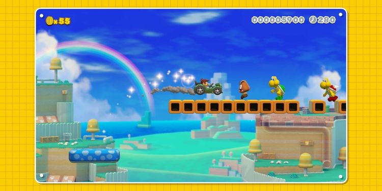 Picture shown with the eighth question in Super Mario Maker 2 Trivia Quiz