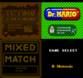 Tetris & Dr. Mario Menu screen.png