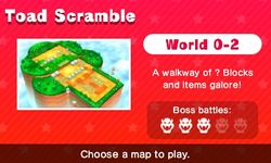 World 0-2 from Mario Party: Star Rush