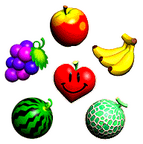 The fruit from Yoshi's Story.