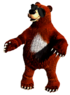 Fanmade artwork of Bachelor from Donkey Kong Country 3.