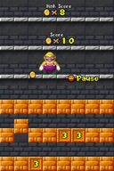 Coincentration in Super Mario 64 DS and New Super Mario Bros., respectively