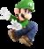 Artwork of Luigi from Super Smash Bros. Ultimate