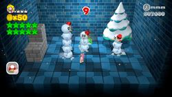 Mystery House Brawl from Super Mario 3D World.