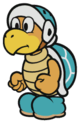 Ice Bro sprite from Paper Mario: Color Splash