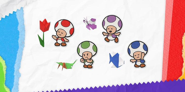 The picture shown with the fifth question in Paper Mario: The Origami King Trivia Quiz