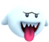 In-game render of the Mega Boo enemy in Super Mario Galaxy 2.