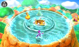 Tidal Toss from Mario Party: The Top 100