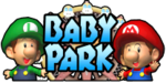 The logo for Baby Park, from Mario Kart: Double Dash!!.