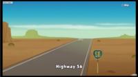 Highway 56 in Game & Wario.