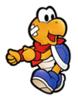 A sticker of Kooper in the game Super Smash Bros. Brawl.