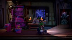Screenshot of Luigi's Mansion 3 from E3 2019