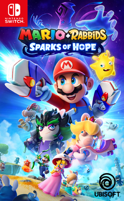 Generic box art for Mario + Rabbids Sparks of Hope