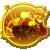 Gold badge 119 from Mario Kart Tour