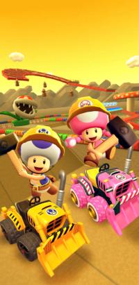 The 2021 Trick Tour from Mario Kart Tour