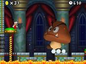 Mario in World 4-Castle.