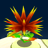 A giant prickly plant from Super Mario Galaxy