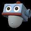 """The """"Robot Cap"""" Mii headwear"""