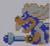 Ludwig von Koopa icon in Super Mario Maker 2 (Super Mario Bros. style)