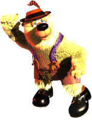 Artwork of Benny Bear
