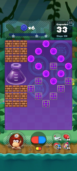 Stage 336 from Dr. Mario World