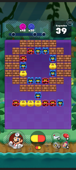 Stage 347 from Dr. Mario World