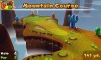 Hole 6 of Mountain Course on Mario Golf: World Tour