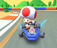 The icon of the Donkey Kong Cup's challenge from the Jungle Tour in Mario Kart Tour.