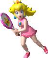 Princess Peach Artwork - Mario Tennis Open.png