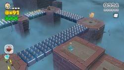 Spiky Spike Bridge in the game Super Mario 3D World