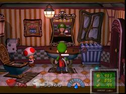 Washroom (1F) from Luigi's Mansion
