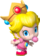 Artwork of Baby Peach from Mario Kart Wii (also used in Mario Super Sluggers and Mario Kart Tour)