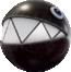 A Big Chain Chomp in Super Mario Odyssey