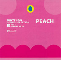 Front cover from the Club Nintendo's exclusive Nintendo Sound Selection Vol.1: Healing Music album.