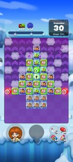 Stage 1031 from Dr. Mario World