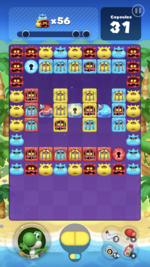 Stage 108 from Dr. Mario World